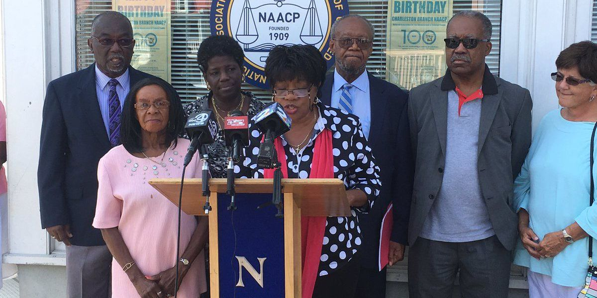 NAACP calls for Calhoun statue to come down