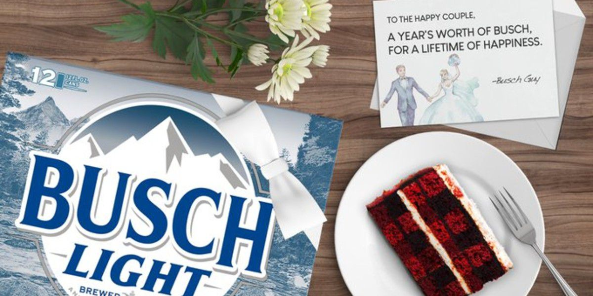 Busch offers year of free beer to couples with postponed weddings due to COVID-19