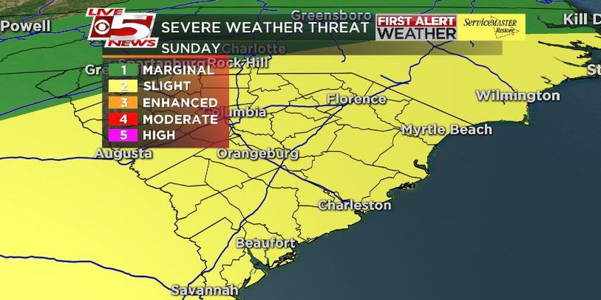FIRST ALERT: All severe watches dropped for the Lowcountry