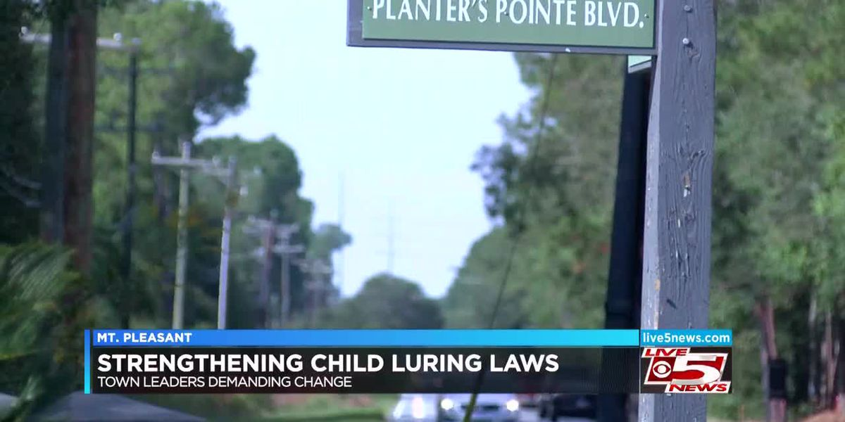 Mount Pleasant mayor wants closer look at child luring laws after recent incidents