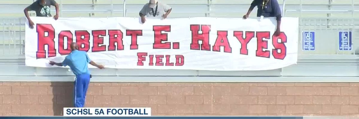 VIDEO: District 2 Stadium field named after Bob Hayes