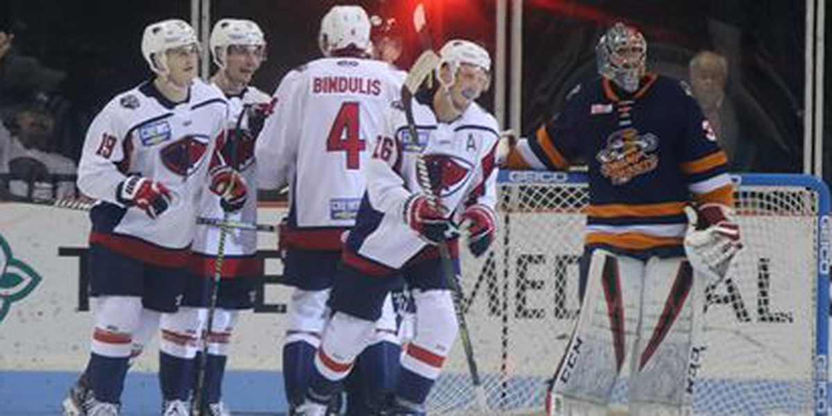 4-Goal Second Sends Stingrays Past Swamp Rabbits