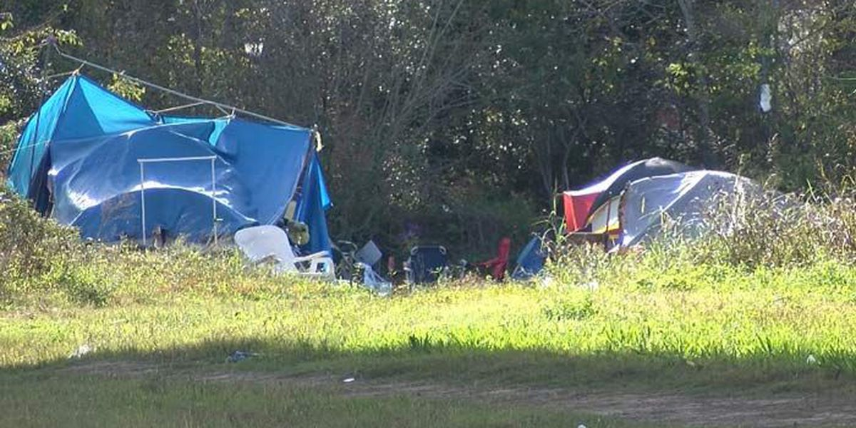 Charleston city officials: Tent City cleanup underway
