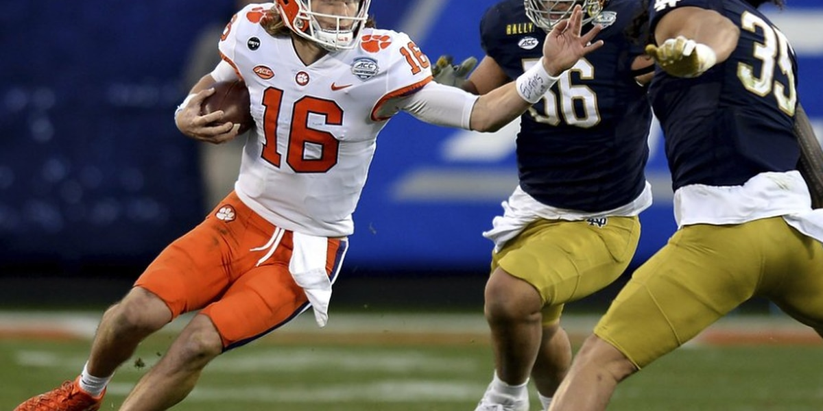 Clemson's Trevor Lawrence named ACC Player of the Year