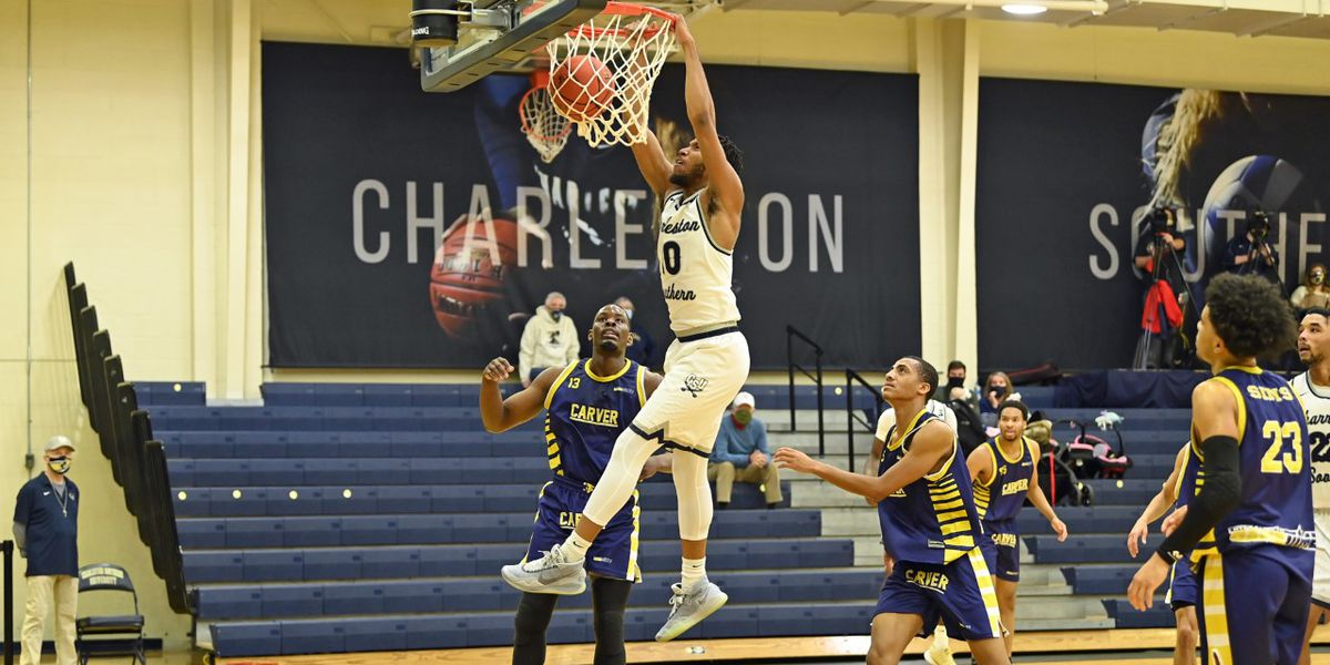 Bucs pull away for first win over Carver
