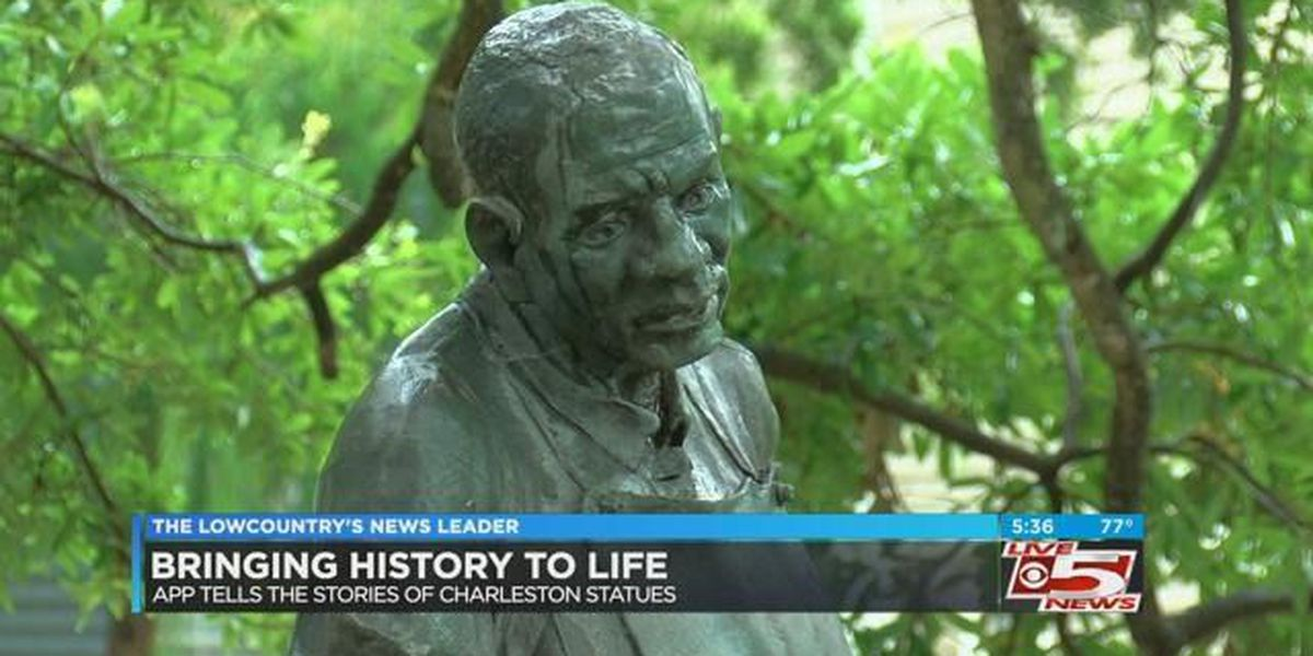 Talking statues bringing history to life in downtown Charleston