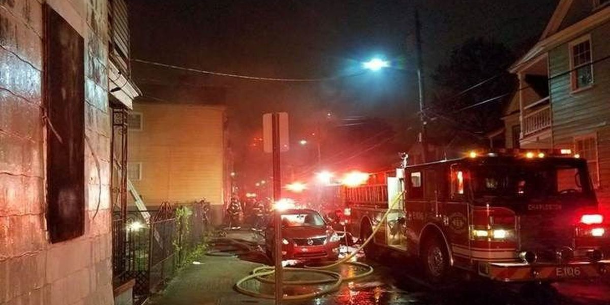 House fire in downtown Charleston remains under investigation