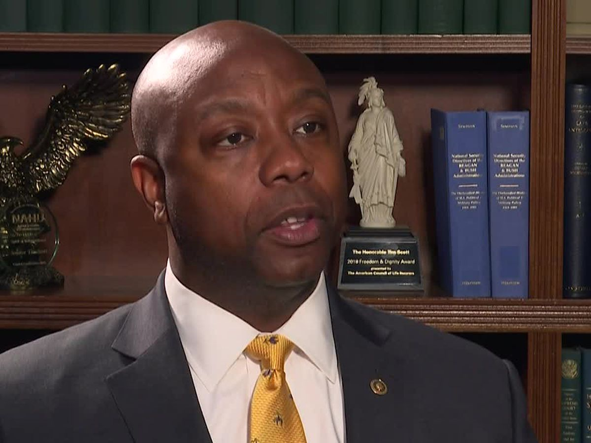 Sen. Tim Scott to deliver GOP response to Biden's joint address
