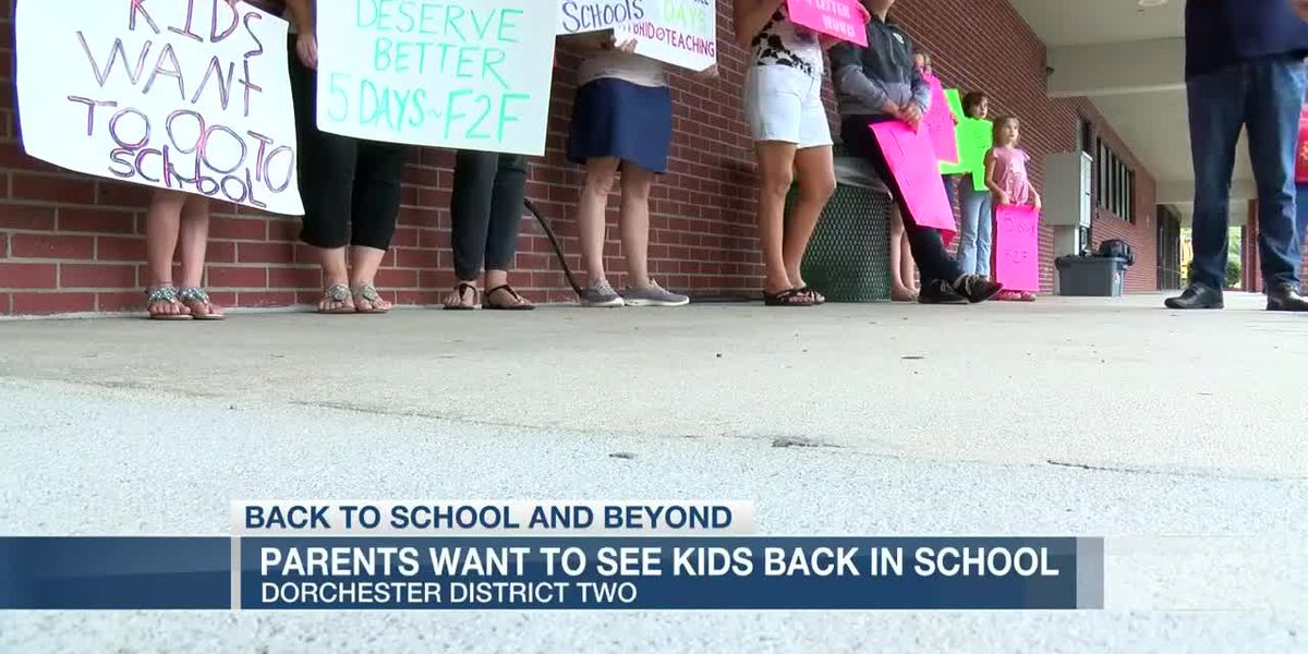 VIDEO: Some DD2 parents want to see their kids back in school