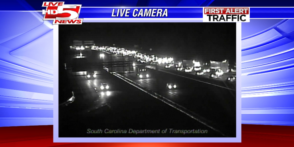 TRAFFIC ALERT: I-26 EB lanes backed up from Royal Rd. exit to Ashley Phosphate