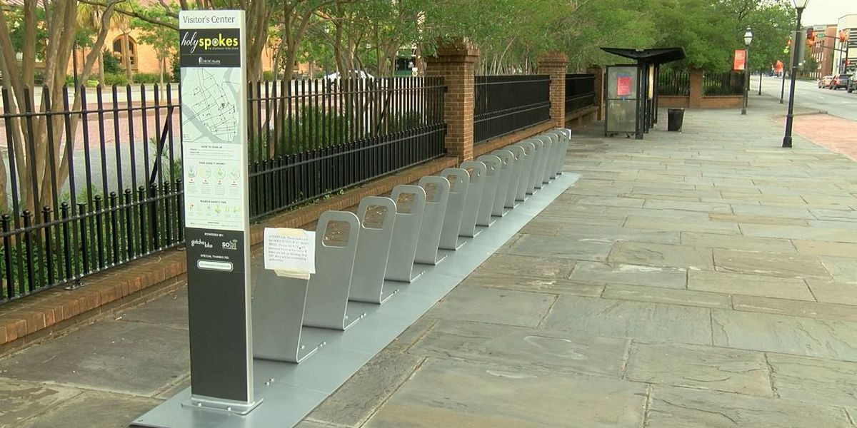 Holy Spokes, city's first bike share program, rolls into town
