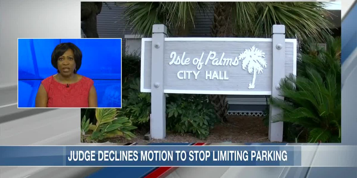 VIDEO: Judge declines motion to stop Isle of Palms from limiting parking