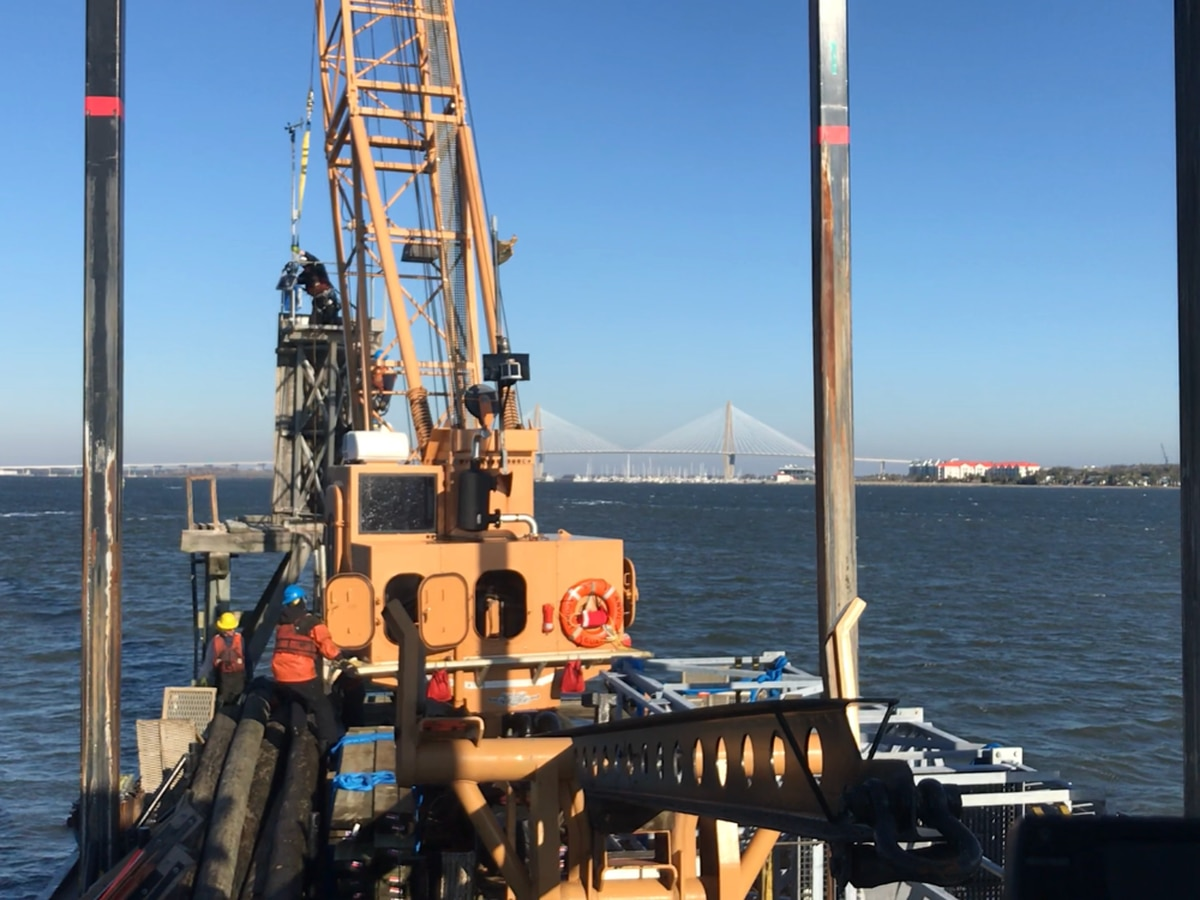 Coast Guard working on unique project in Charleston Harbor