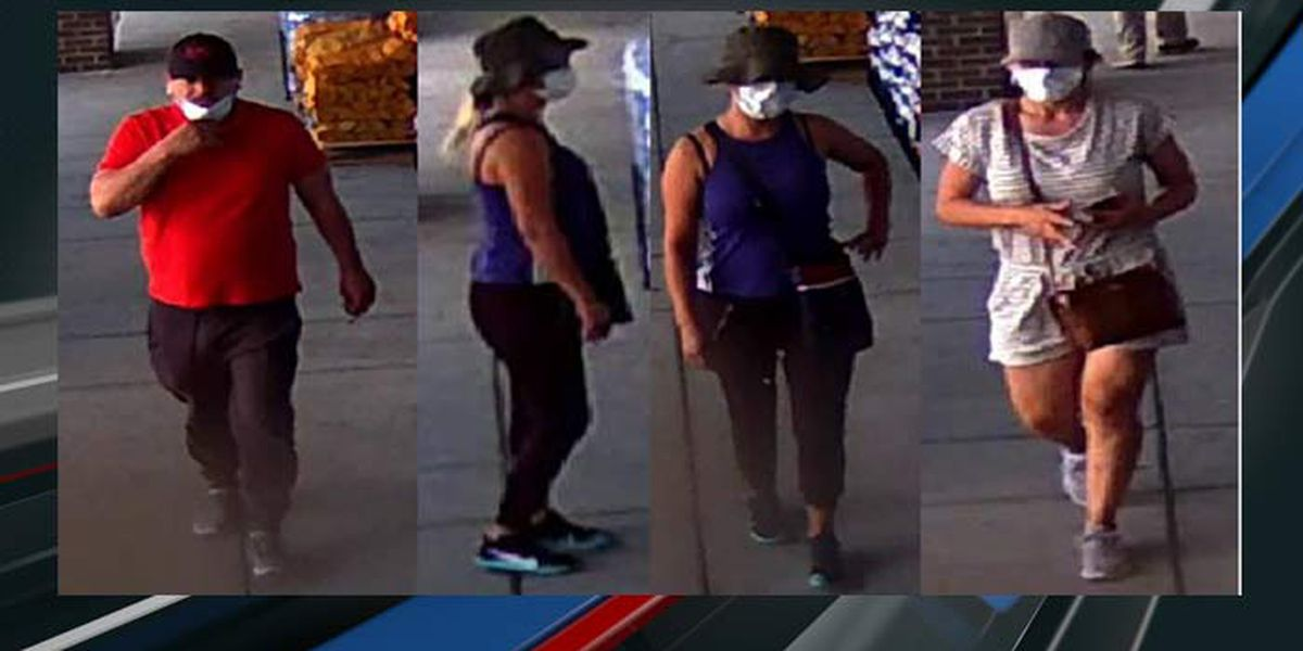 Charleston Police release surveillance images in wallet theft