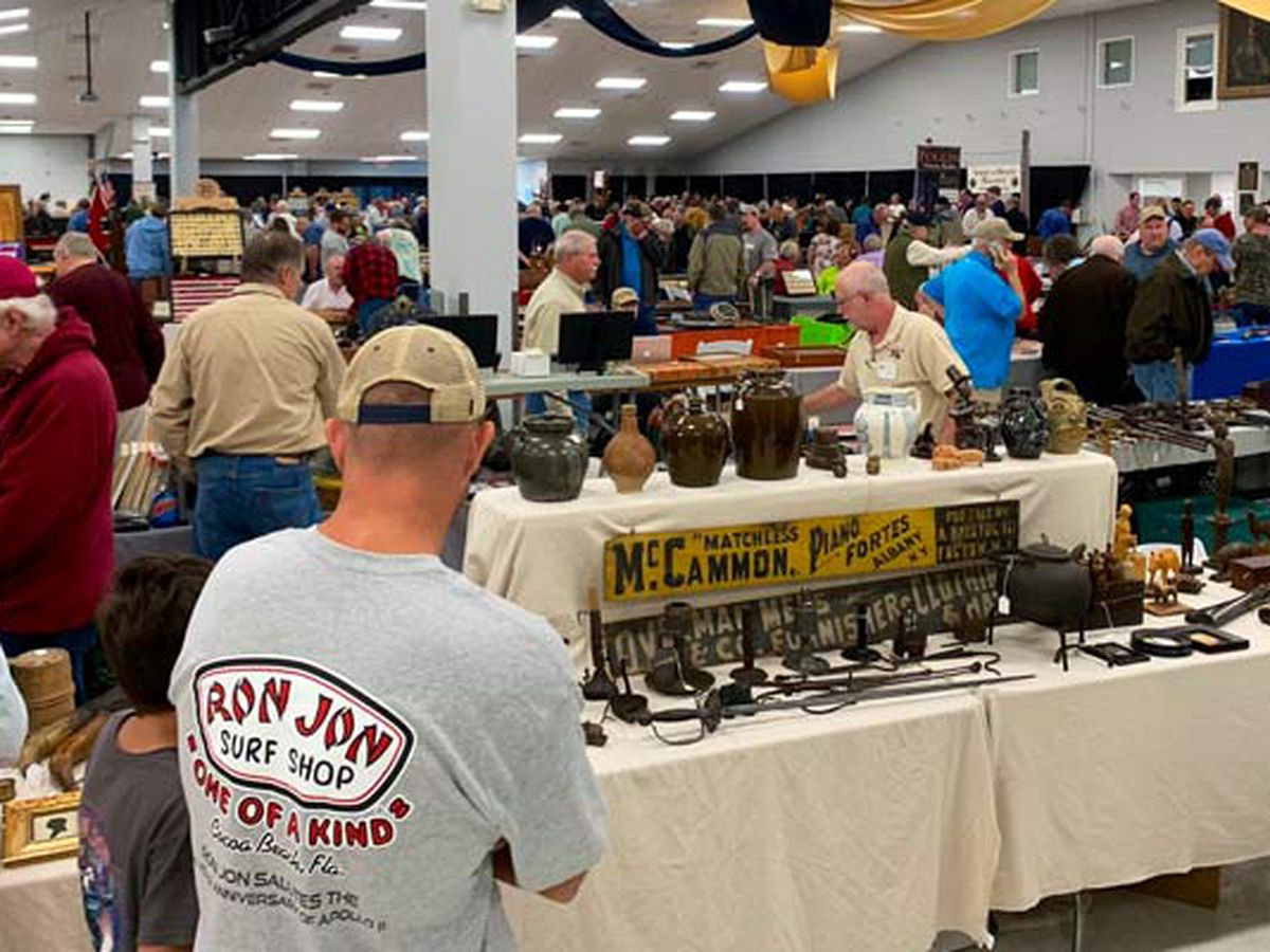 Annual Civil War, artifact show opens in Mount Pleasant
