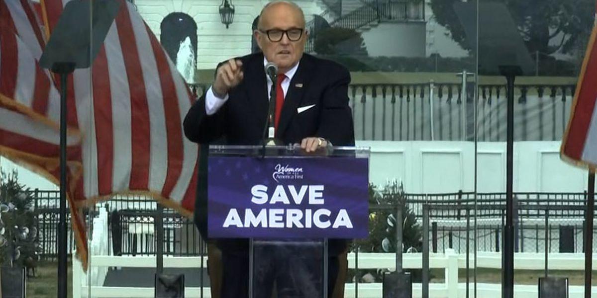 NY bar association seeks Giuliani ban over 'combat' remarks