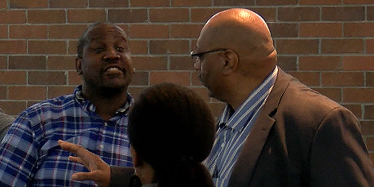 CCSD board member takes mic from speaker during heated exchange at community meeting
