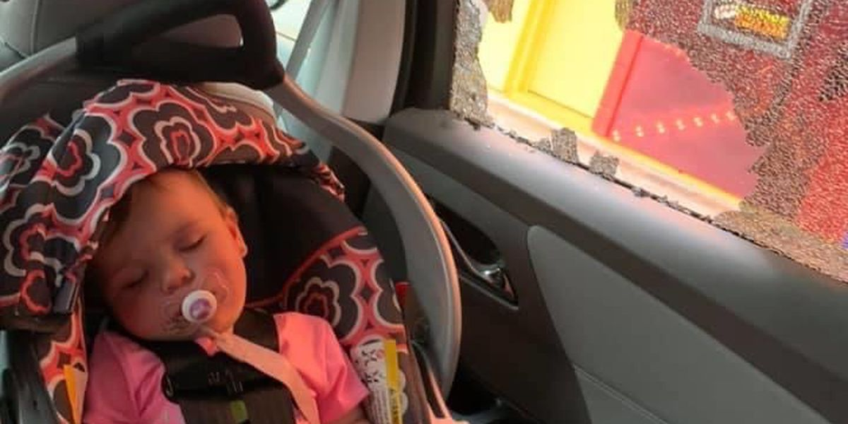 'I hope they feel remorse': Bullet comes inches from striking baby during S.C. shooting