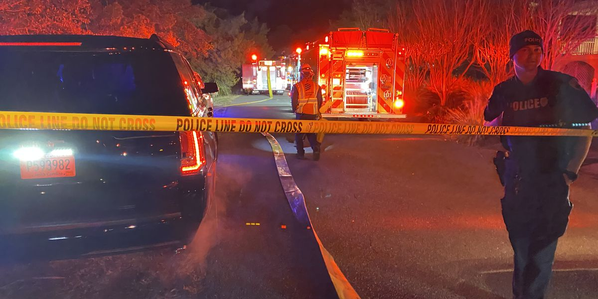 No injuries reported in Sunday night Isle of Palms house fire