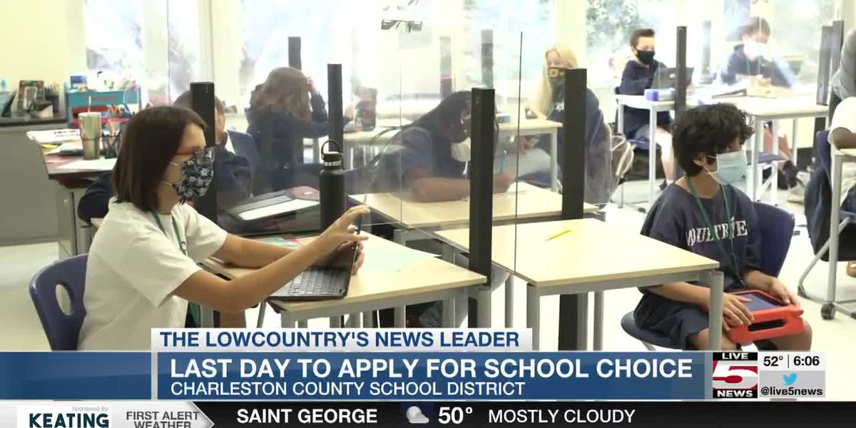 VIDEO: Friday is last day to submit Charleston County School Choice application