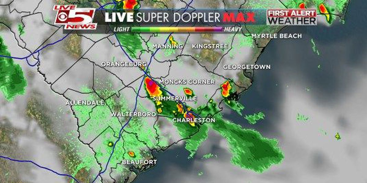 Severe thunderstorm warning canceled for Charleston, Berkeley, Dorchester counties