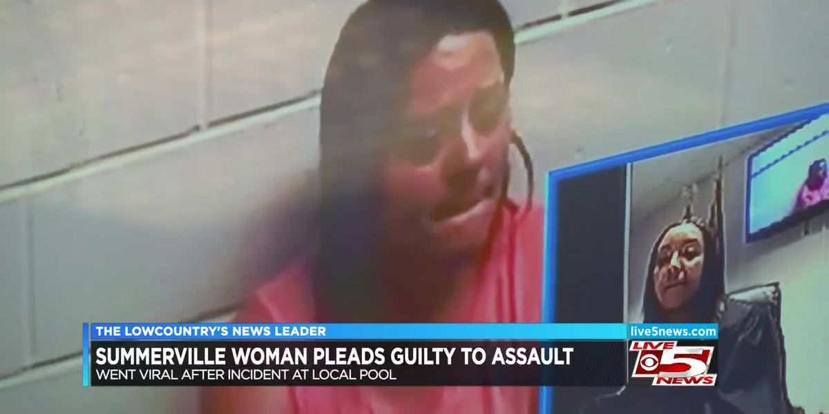 Lowcountry woman pleads guilty to assault at community pool captured on viral video