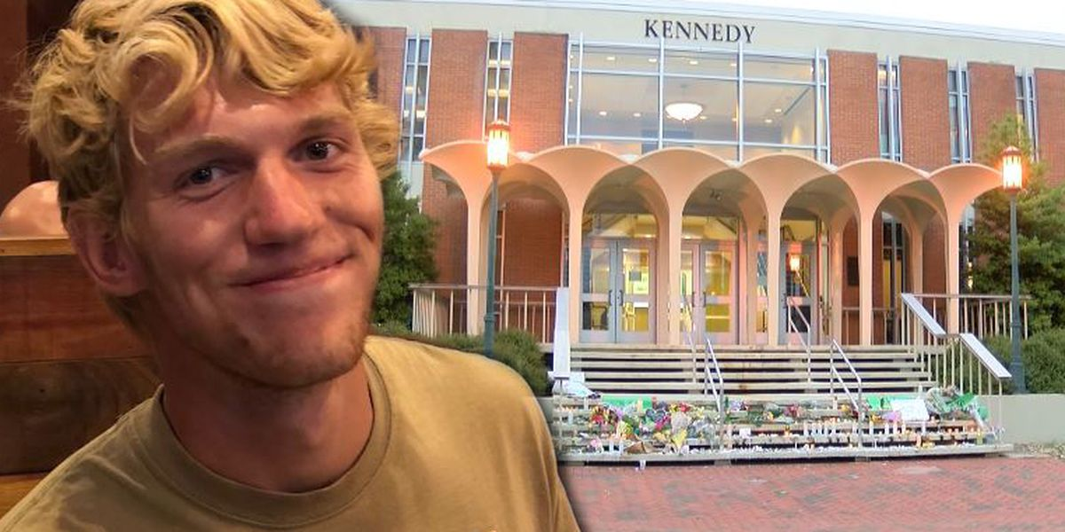 UNC Charlotte hero Riley Howell remembered with full military honors