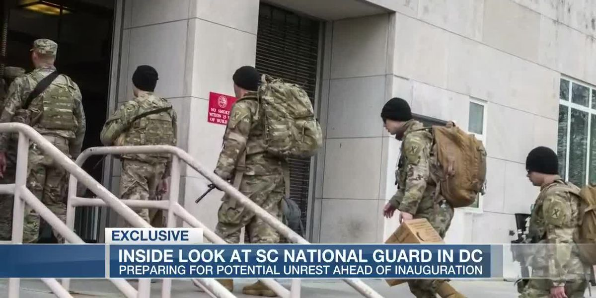 VIDEO: More than 600 S.C. National Guard to assist in Washington, D.C.
