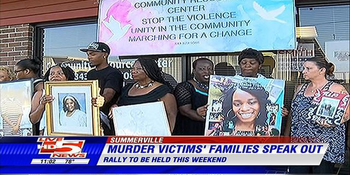 Mothers come together in honor of murder victims, will hold rally Saturday