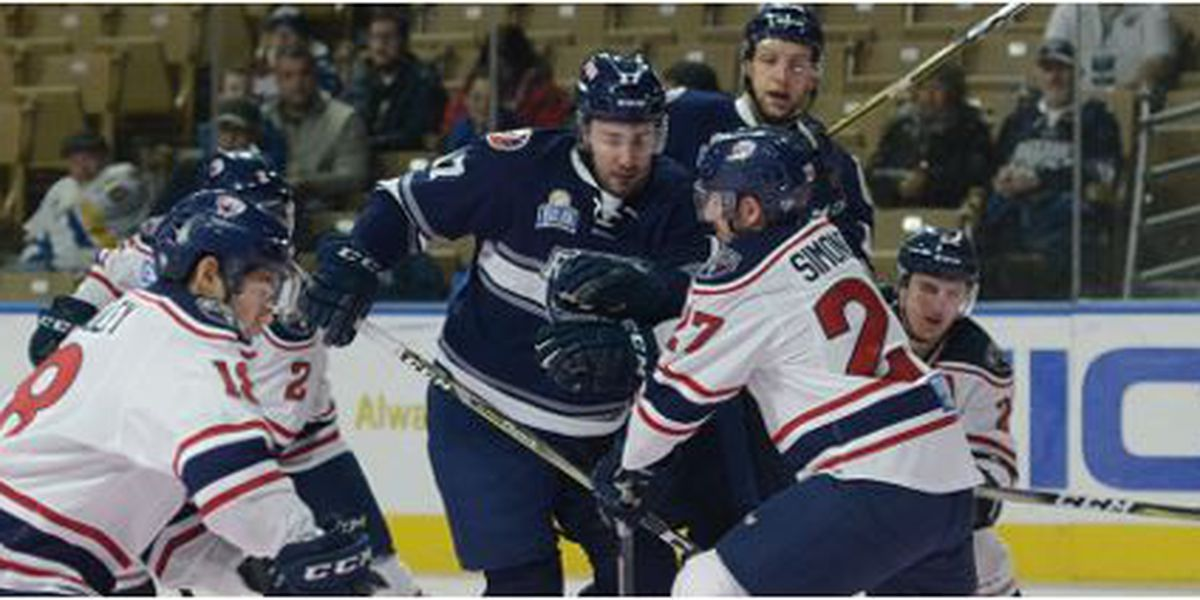 Stingrays Feel Right At Home With 4-1 Win In Worcester