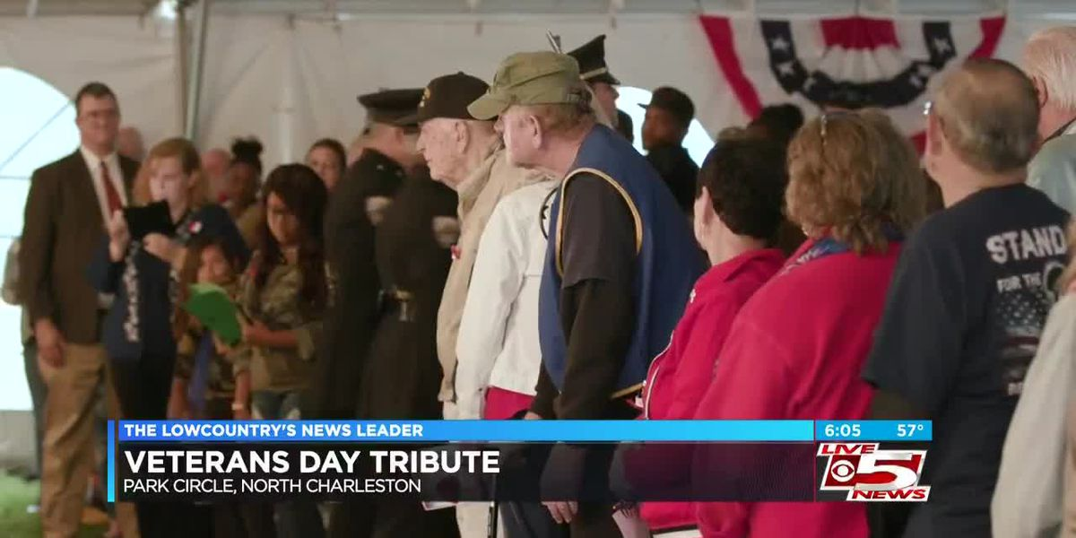 City of North Charleston honors veterans at annual Veterans Day Tribute