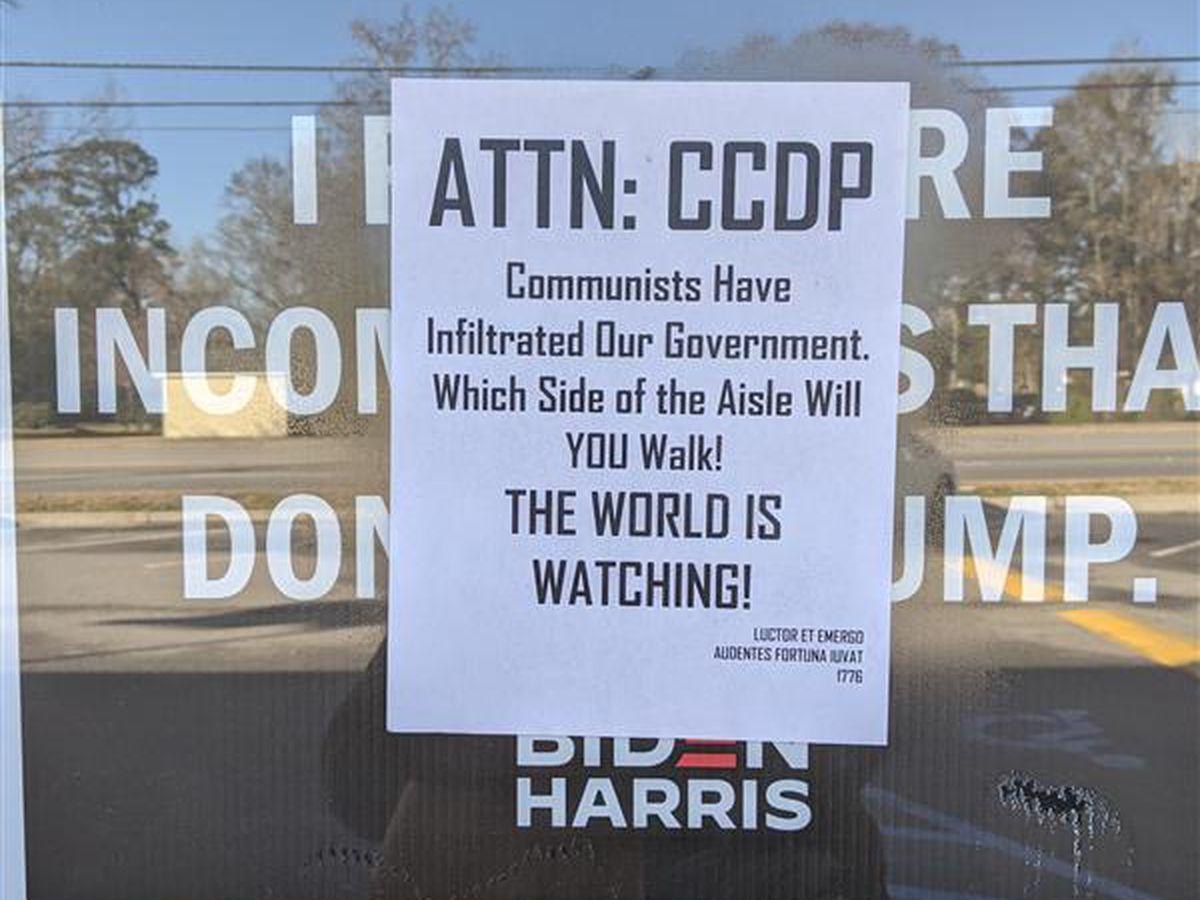 Charleston Co. Democratic Party headquarters vandalized