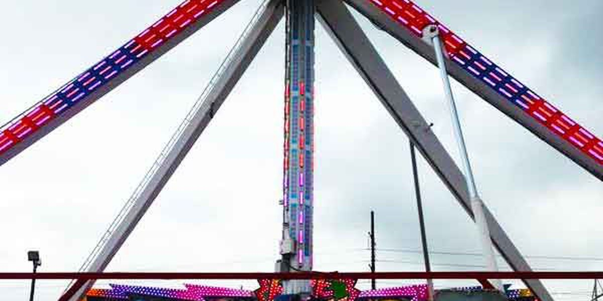 Coastal Carolina Fair rides closed on Tuesday due to weather