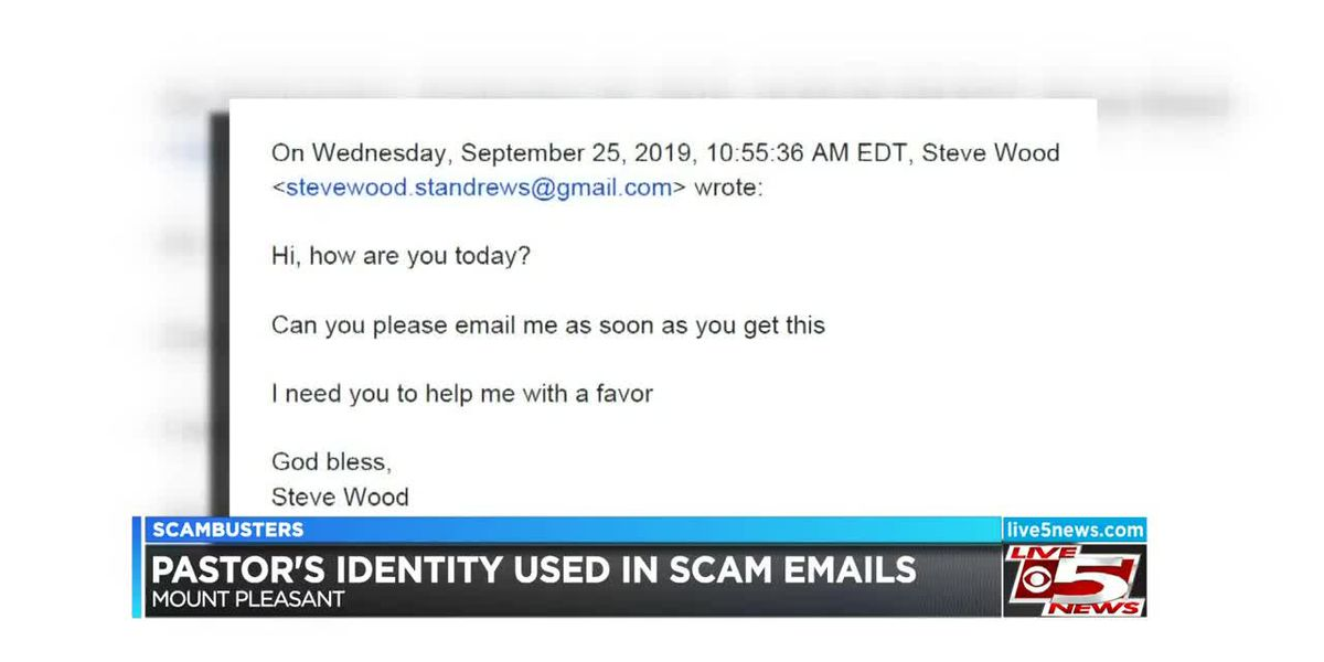 VIDEO: Live 5 Scambusters: Email scam asks church members to donate gift cards for cancer patients