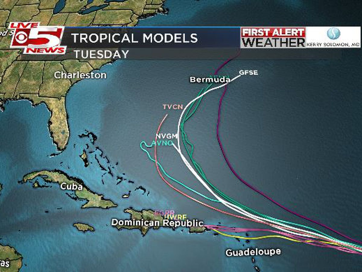FIRST ALERT: Tropical Depression 10 expected to become Tropical Storm Jerry by Tuesday night