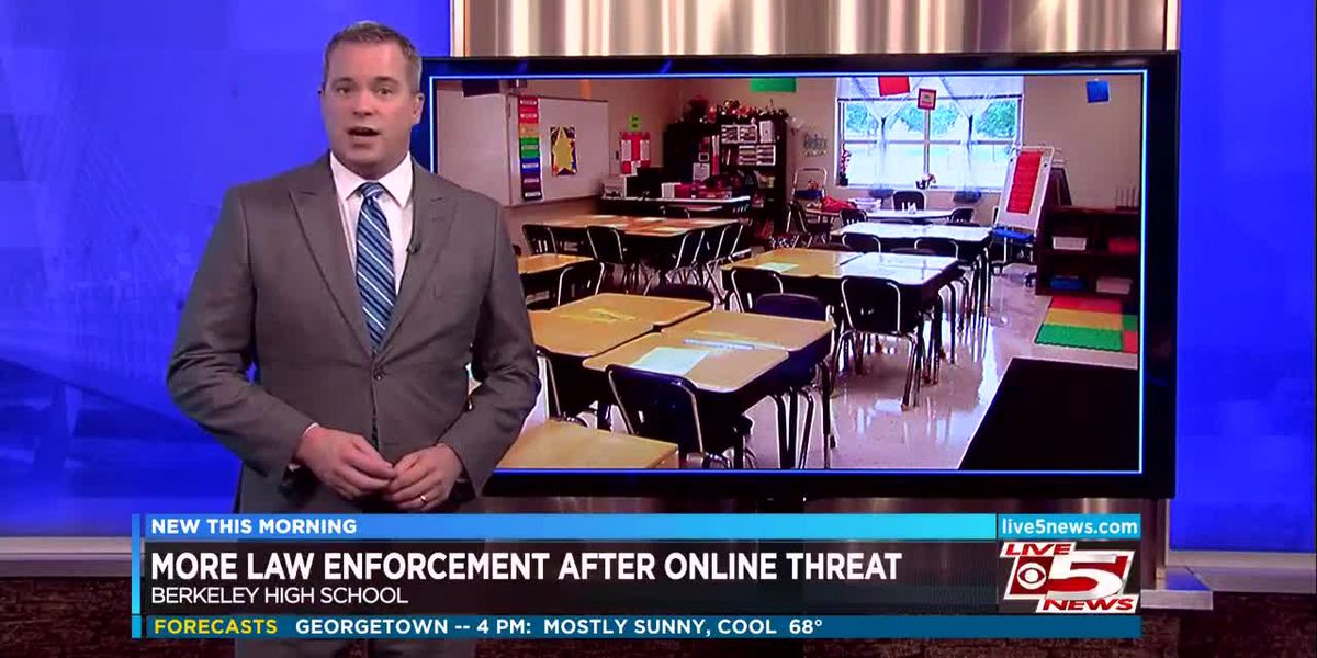 VIDEO: Larger police presence expected at Berkeley High School after social media threat