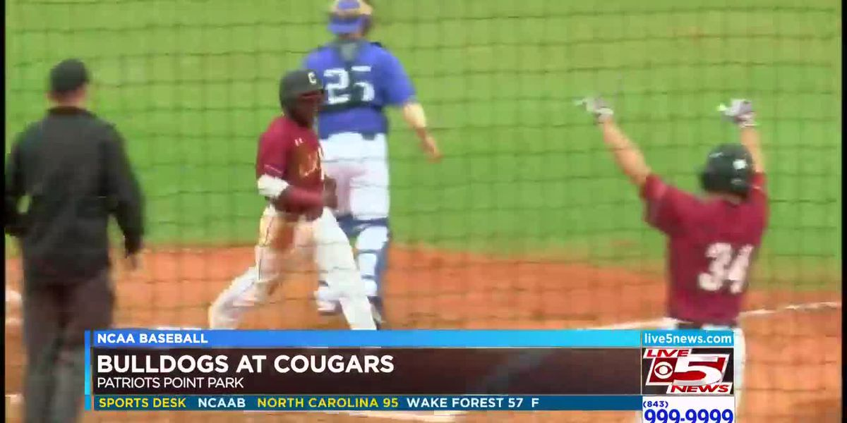 VIDEO: CofC gets walk off win over UNC Asheville