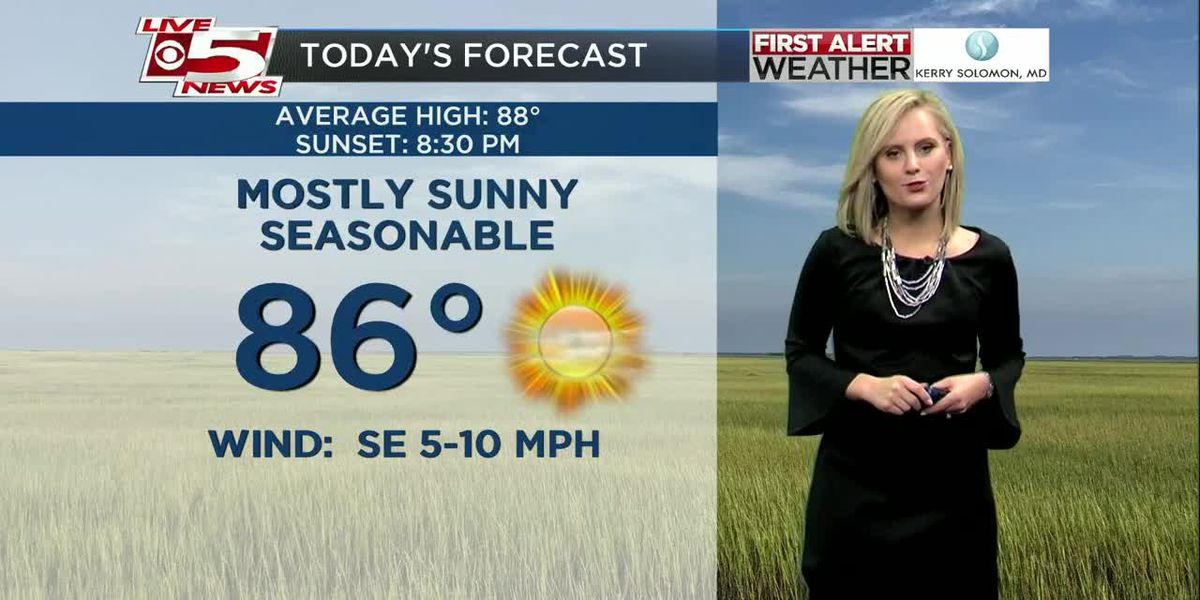 VIDEO: Your Saturday Morning Weather Forecast
