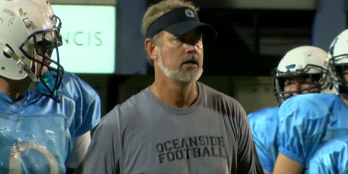 Chad Grier steps down as head coach at Oceanside Collegiate