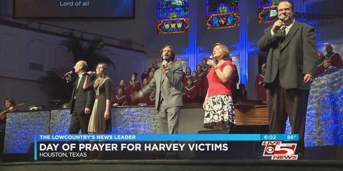 Texas holds 'National Day of Prayer' for those affected by Hurricane Harvey