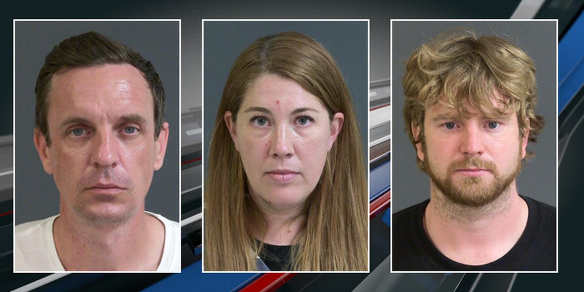 Police: Three arrested for vandalizing downtown church