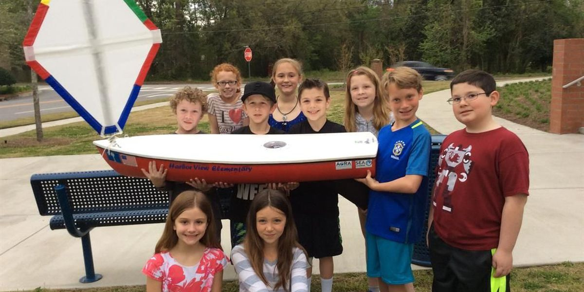 Local elementary school partners with U.S. Coast Guard to land unmanned boat in Ireland