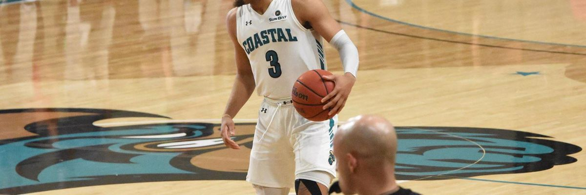 Coastal Carolina's Jones Named Sun Belt Player of the Week
