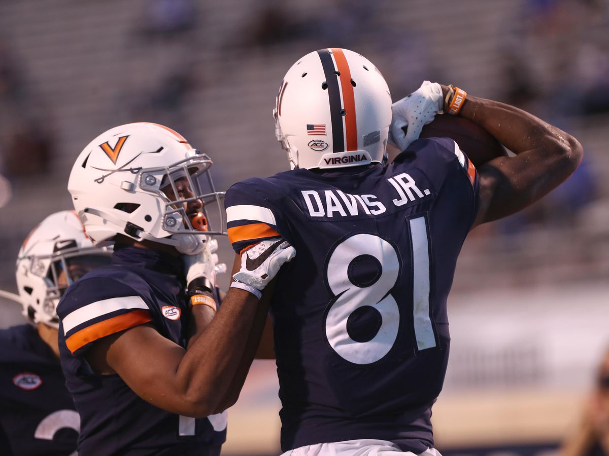 Woodland alum Lavel Davis named ACC Receiver of the Week