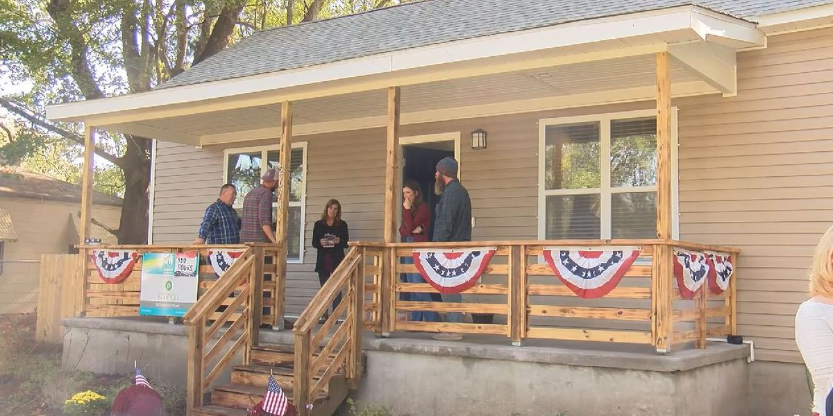 N. Charleston veteran gifted home from Habitat for Humanity on Veterans Day