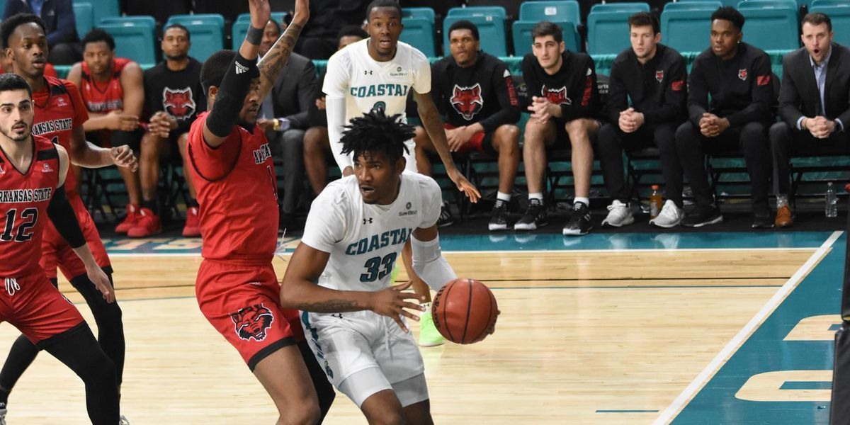 Coastal Carolina Drops Close Game to Arkansas State