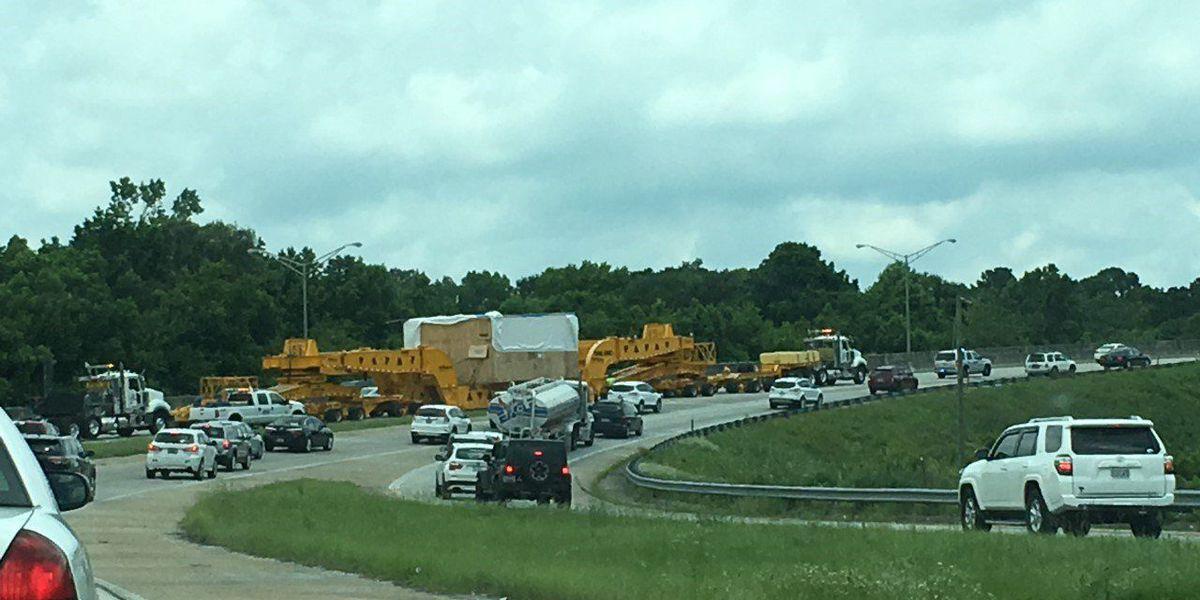 Highway Patrol: Oversize load slows westbound traffic on I-26