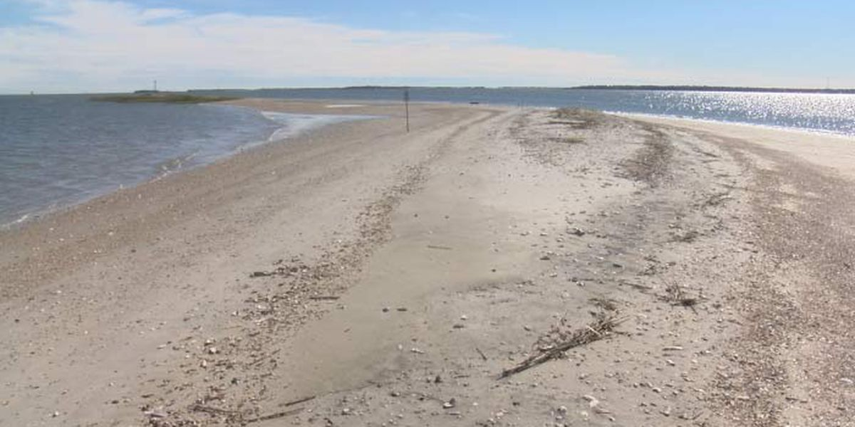 Crab Bank renourishment location moved farther away from Shem Creek