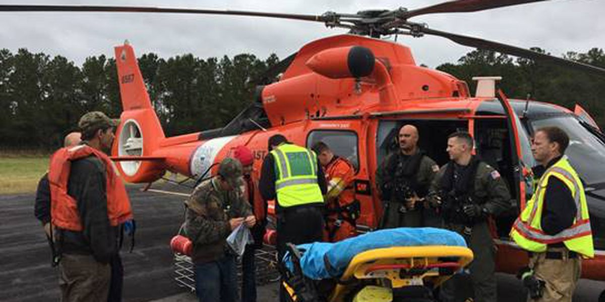 Coast Guard rescues 3 from disabled vessel near Bulls Bay