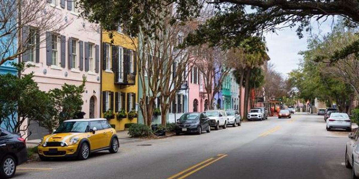 Have you ever wanted to buy a Rainbow Row house? Now is your chance
